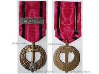 Czechoslovakia WWII Czechoslovak Army Abroad Medal 1939 1945 with Bar Middle East