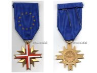 France EU Cross of the European Confederation of Former Veterans by LR Paris
