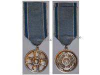 Finland WW2 Sports Gymnastics Physical Education Military Civil Medal Merit Silver 2nd Class Finnish Decoration