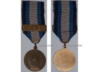 Finland National Defence MPM Defense Military Medal Gold Bar Tower Finnish Decoration Award