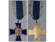 Finland WW1 WW2 Sininen Blue Cross Civil Guards Veterans Military Medal Finnish Decoration 1918 1939 1941