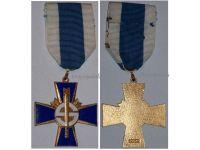 Finland WW1 WW2 Sininen Blue Cross Civil Guards Veterans Military Medal Finnish Decoration 1918 1939 1941