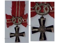 Finland WW2 Order Cross Liberty with Swords IV Class 1939 Military Medal Winter War Finnish Decoration Award WWII