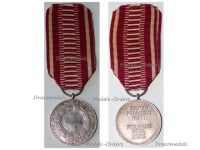 Finland WWII Red Cross Silver Medal of Merit Military 1931 Dated 1952 by Alexander Tillander
