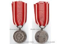 Finland WWII Red Cross Silver Medal of Merit 1931 Dated 1933 by Alexander Tillander