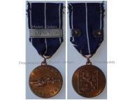 Finland WW2 Continuation War Commemorative Military Medal 1941 1944 bar Lapin Sota Lapland 1945 WWII Finnish Decoration Award