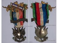 France Franco Prussian War 1870 1871 Veterans Medal Oublier Jamais with Bars 1870-1871 & Vice President
