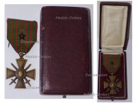 France WWI War Cross 1914 1916 with 1 Citation Bronze Star Boxed