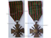 France WWI War Cross 1914 1916 with 1 Citation Bronze Star