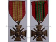 France WW2 War Cross Croix de Guerre 1939 1940 Military Medal WWII 1945 French Decoration Merit Award