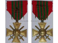 France WW2 War Cross Croix de Guerre 1939 1940 star Military Medal WWII 1945 French Decoration Merit Award