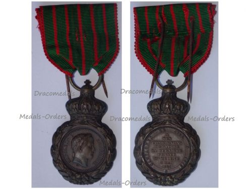 France Saint Helena Medal for the Napoleonic Wars 1792 1815 by Barre
