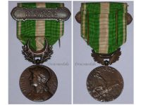 France Morocco Military Medal 1908 clasp Maroc Colonial Campaign French War Award Decoration 3rd Republic