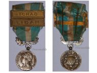 France Overseas Military Medal bars Chad 1960 Lebanon 1978 Colonial Wars French Decoration Award 5th Republic