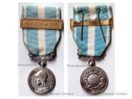 France Overseas Medal bar Chad Colonial Wars French Military Decoration Award V Republic