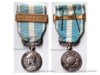 France Overseas Medal with Bar Chad