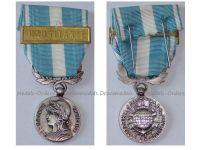 France Overseas Medal with Bar Mauritania