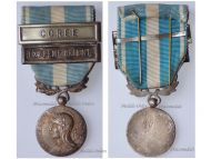 France Colonial Medal with Clasps Coree Korea & Extreme Orient Far East Unifacial Type by Mourgeon Korean War 1950 1953