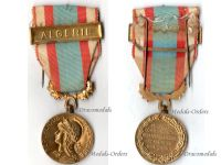 France North Africa Medal for Security and Order Operations with Clasp Algeria 2nd Type