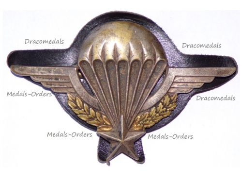 France Para Wings Badge Numbered by Drago Paris 1960 Issue (Algerian War)