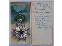 France Dahomey Order Black Star Benin Knight's Cross Boxed to Lieutenant 1958