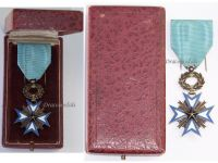 France Dahomey WWI Order of the Black Star of Benin Knight's Cross Boxed