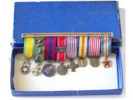 France WW1 British Distinguished Conduct War Cross Victory Valor Discipline Verdun Wound Combatants Medals set WWI 1914 1918 Decorations MINI Boxed