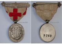 France WWI Red Cross Medal Union French Women UFF 1914 1918 Numbered