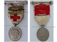 France WWI Red Cross Medal Union French Women UFF with Bronze Nurse Palms and Gold & Bronze Red Cross Palms 1914 1918 Numbered