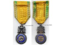 France WW1 Valor Discipline 1870 Military Medal Merit French Decoration 7th type WWI 1914 1918 Chobillon