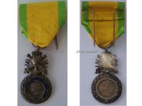 France WWI Military Medal Valor Discipline 1870 7th type 1910 1951 by Chobillon