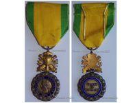 France WWI Military Medal Valor Discipline 1870 7th type 1910 1951 by Paris Mint