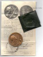 France WW1 Verdun medal 1916 on ne passe pas 1914 1918 Vernier Decoration Diploma Great War Award