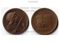 France WW1 Verdun medal 1916 on ne passe pas WWI 1914 1918 Vernier Decoration Case Great War Table Award
