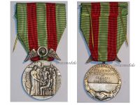 France WW1 Colonial Railways Mutual Security Medal Agents French Decoration 1900 J. Moly