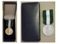 France Public Communal Regional Service Civil Medal 1990 Silver Class French Award boxed