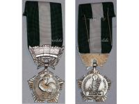 France Public Service Medal Decoration French Civil Award 1970 Female Attributed post WWII