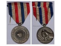 France Railroad Railway Silver Medal 25 years Service 1942 NAMED Civil French Decoration VICHY Award