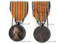France WW1 Fire Fighters Honor Medal Meritorious Service 1st type 1900 Silver WWI 1914 1918 French Civil Military Decoration Roty