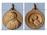 France Commandant Guesnet Medal of the Association for the Support of the Firemen Orphans 1926