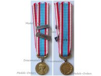 France North Africa Medal for Security and Order Operations with Clasps Algeria Morocco 1st Type MINI