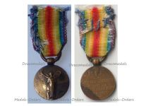 France WWI Victory Interallied Medal by Morlon Laslo Official Type MINI