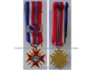 France Britain WWII Franco-British Association Commander's Cross 1940 1944 1st Type MINI
