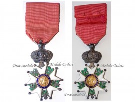 France Order Legion Honor Knight's Cross 1852 1870 Napoleon III French Military Medal Decoration 2nd Empire
