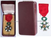 France Order Legion Honor Officer's Cross 1870 French Military Medal Decoration WW1 1914 1918 Great War