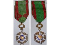 France Order Agricultural Merit Officer's Star Cross 1883 French Civil Medal Decoration WW1 1914 1918 Boxed