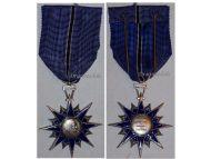 France Order Civil Merit Knight's Star Cross French Medal Decoration Award 4th Republic 1957 1963