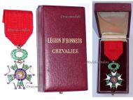 France Order Legion Honor Knight Cross French Military Medal Decoration IV Republic 1951 1961 Paris Mint Boxed