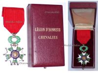 France WWII Order Legion Honor Knight's Cross French 4th Republic 1951 1961 Boxed