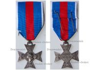 France Order Military Merit Knight's Cross in Silver 1957 1963 by Paris Mint & Delannoy